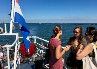 Bovendek boot Amsterdam Stortemelk