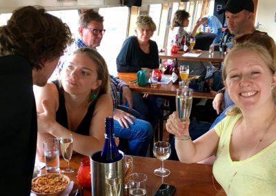 Bovensalon partyboot Stortemelk