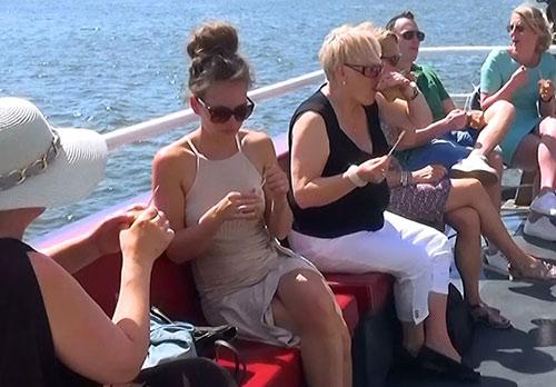 zomervakantie uitje varen bbq ijsselmeer