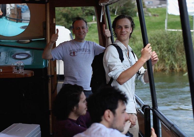 groepsuitje amsterdam zaandam op boot