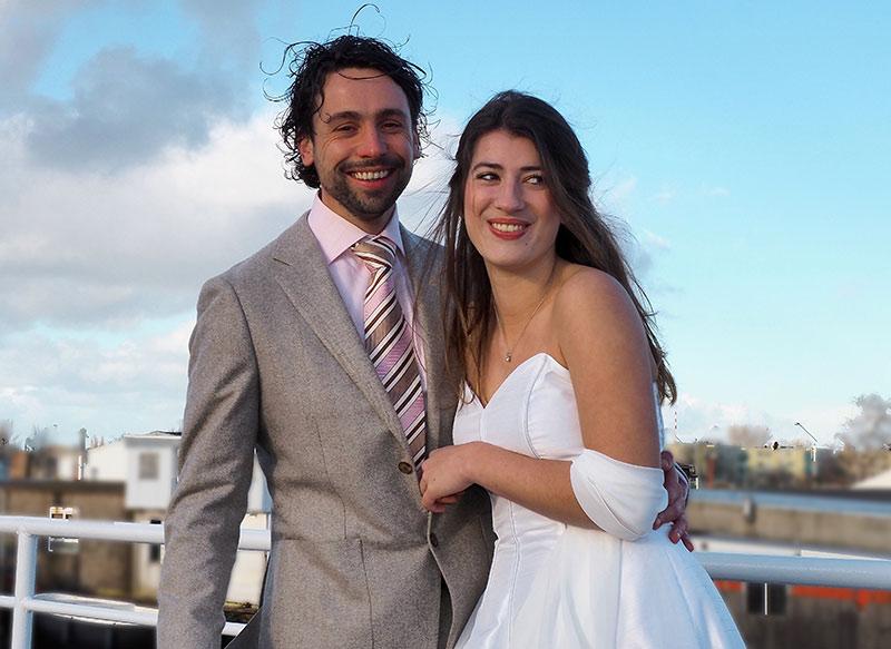 trouwen op boot amsterdam