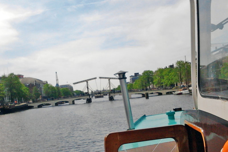 Rondvaart boottocht Amstel Amsterdam
