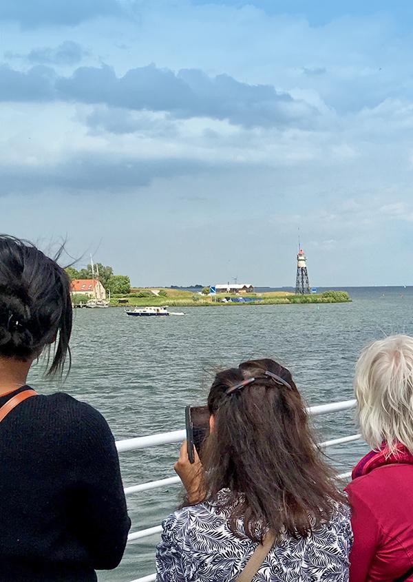 dagje uit gezin hemelvaart met de boot