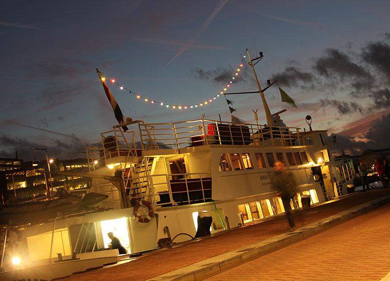 partyboot amsterdam huren
