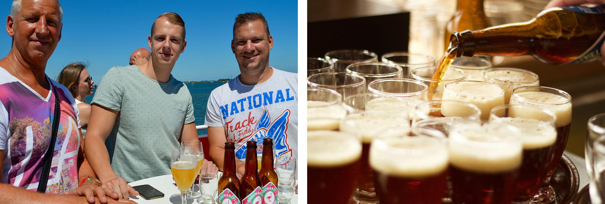 vaderdag uitje 2018 amsterdam bierproeverij en varen