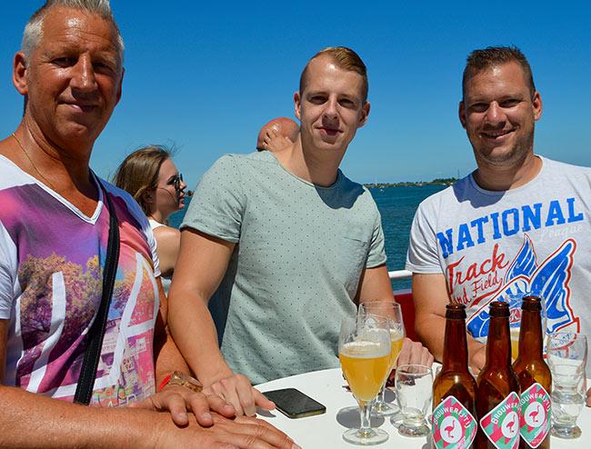 vaderdag uitje 2018 amsterdam bier en varen