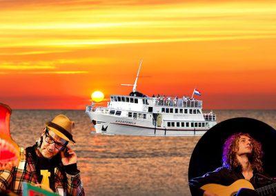 Sunset BBQ Cruise met live-muziek