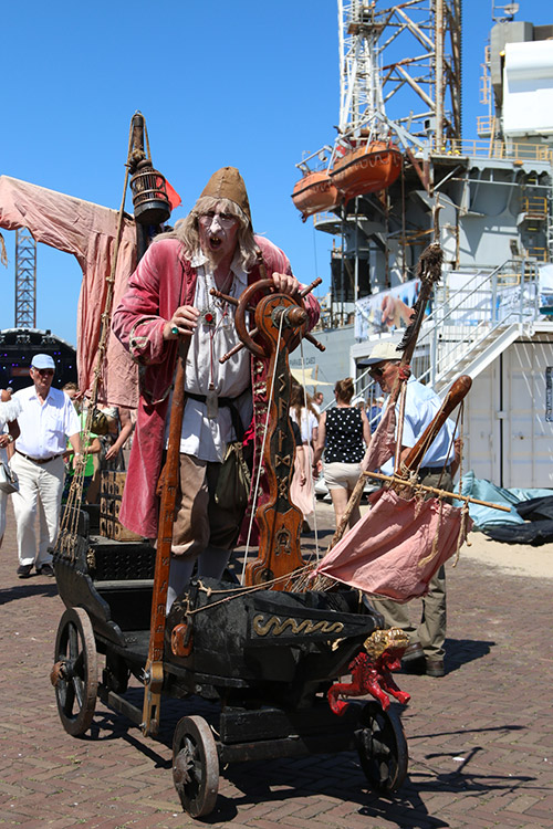 dagje uit ijmuiden boot havenfestival