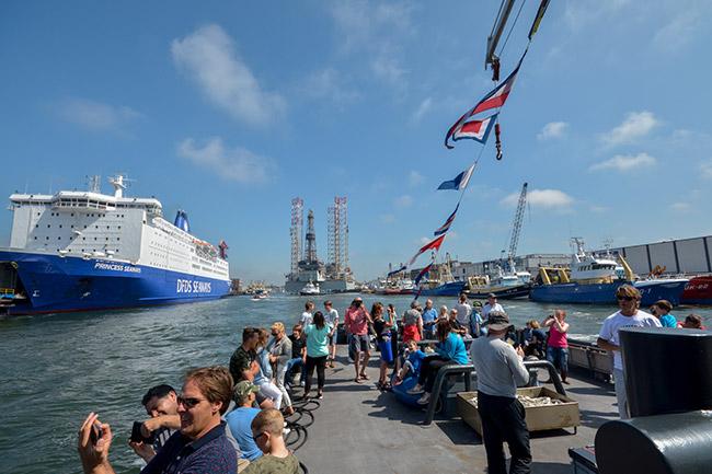 dagje weg havenfestival ijmuiden boottocht