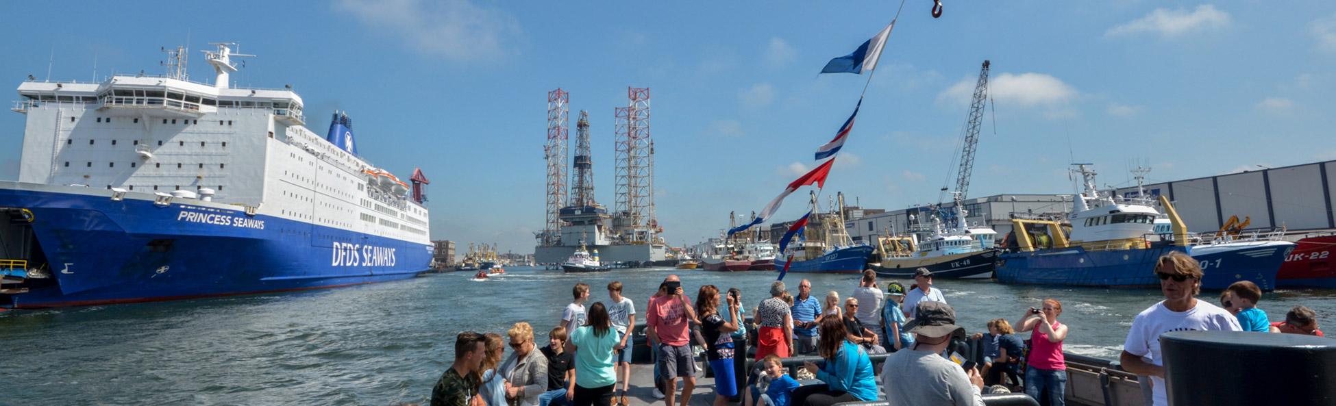 dagje uit havenfestival ijmuiden met boot