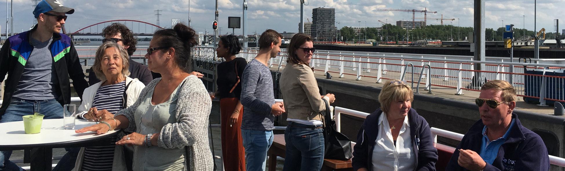 dagje uit herfsvakantie amsterdam ijmuiden met boot