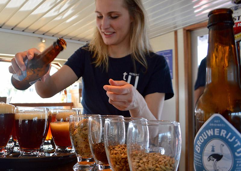 pasen uitje amsterdam varen en bierproeverij