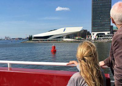 vaartocht ij Amsterdam