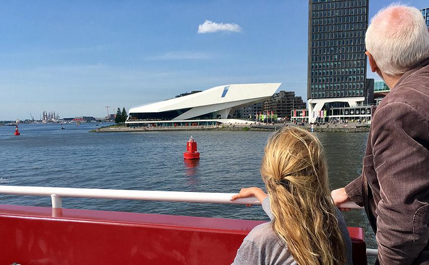 lunch vaartocht sail amsterdam