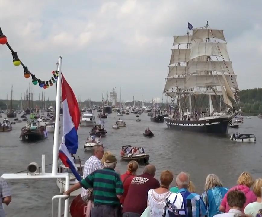 sail intocht boot huren groep