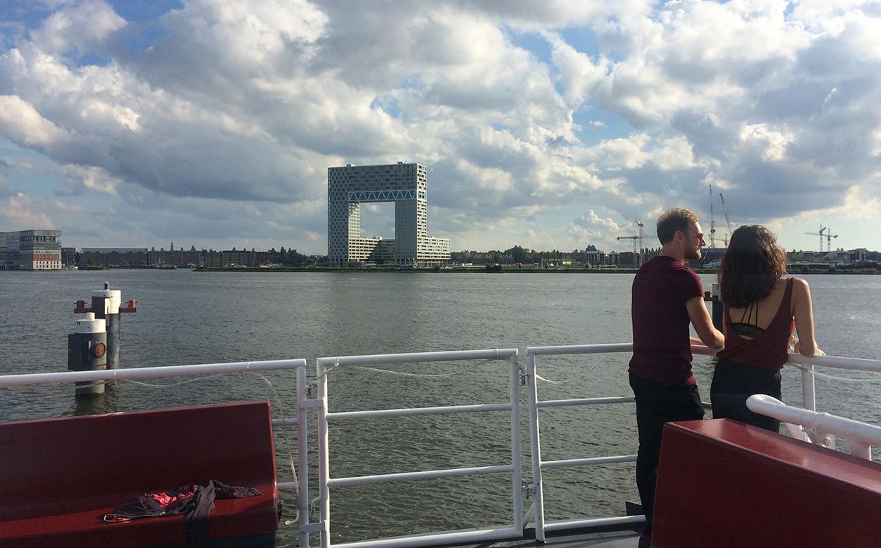 borrel boot amsterdam
