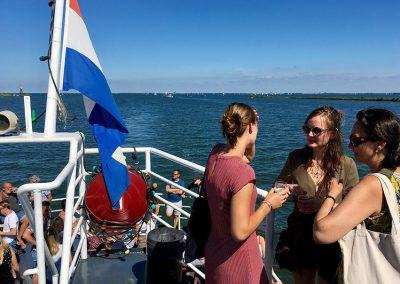 Bovendek boot Stortemelk Amsterdam