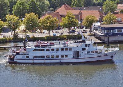 Boot Stortemelk Amsterdam huren