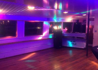 Danslocatie bedrijfsfeest bovensalon boot Stortemelk